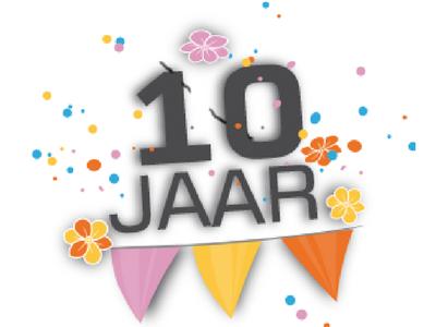 10 jaar 10 jaar als zelfstandige 10 jaar